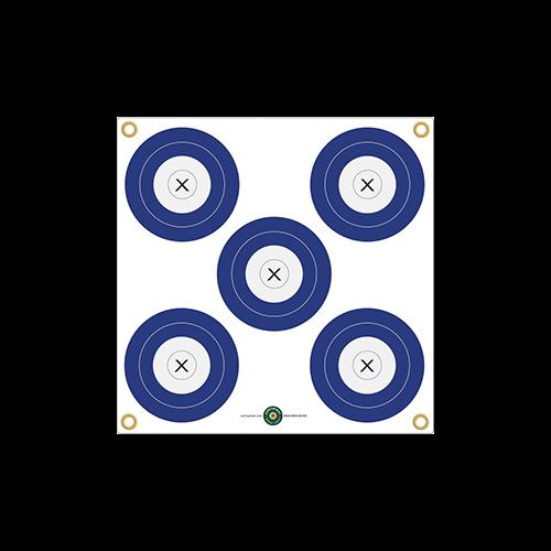 Arrowmat XL Foam Target Face Multi 5 Spot 34x34 in.