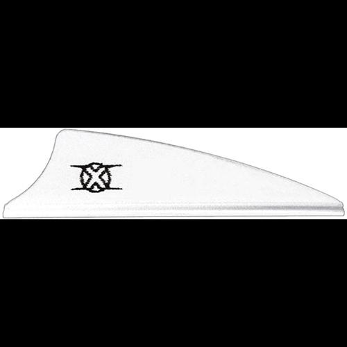 Bohning Shield Cut X Vanes White 1.75 in. 100 pk.