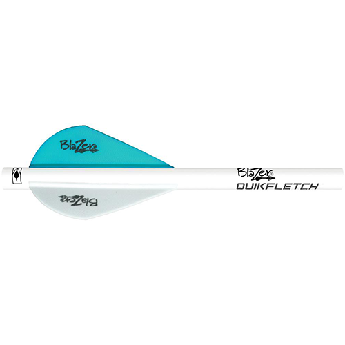 Bohning Blazer QuickFletch Teal 6 pk.