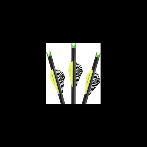 Lumenok Carbon Bolt Green Capture Nock 20 in. 3 pk.