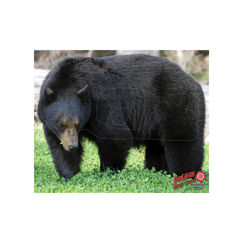 Duramesh Archery Target Black Bear 25 in.x 32 in.