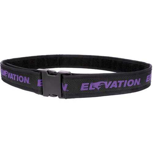 Elevation Pro Shooters Belt Purple 28-46 in.