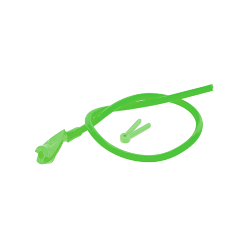 OMP In-Line Peep Flo Green 1/4 in.