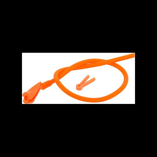 OMP In-Line Peep Orange 1/4 in.