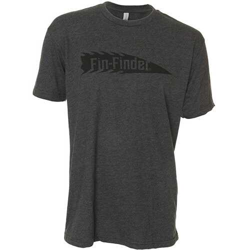 Fin Finder The Barb Tee Charcoal Small