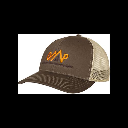 October Mountain Logo Hat Brown/Tan
