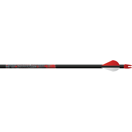 "Bloodline FOC 330 6mm Arrows w/2"" Vanes"