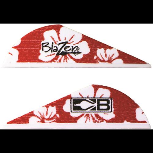 Bohning Blazer Red Hawaiian Vanes 36 pk.