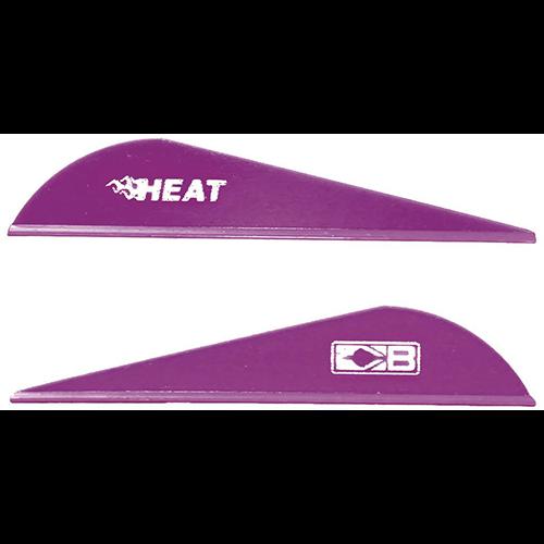Bohning Heat Vanes Purple 36 pk.