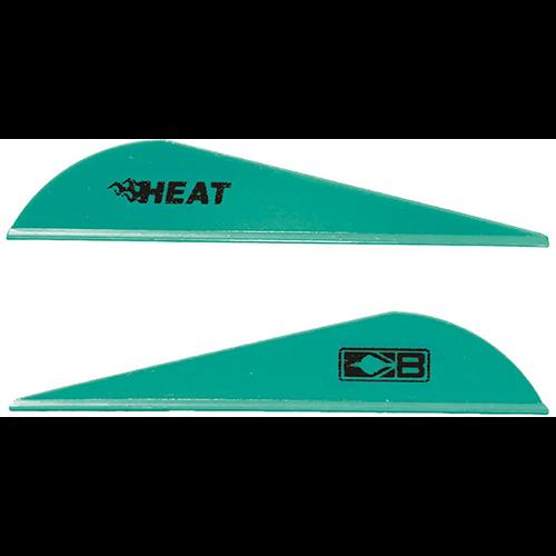 Bohning Heat Vanes Teal 36 pk.