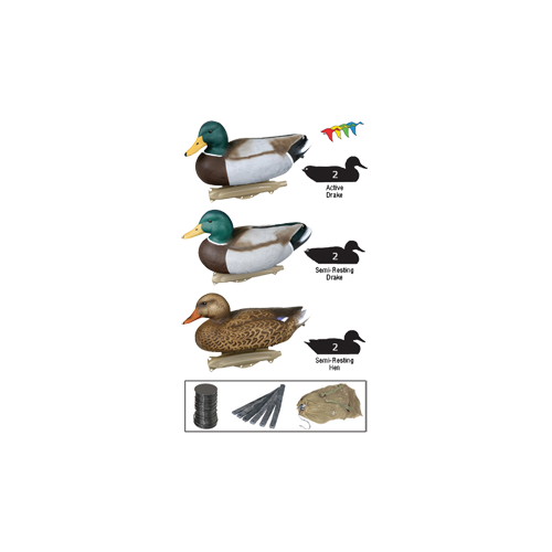 Flambeau Storm Front Wood Duck Decoy