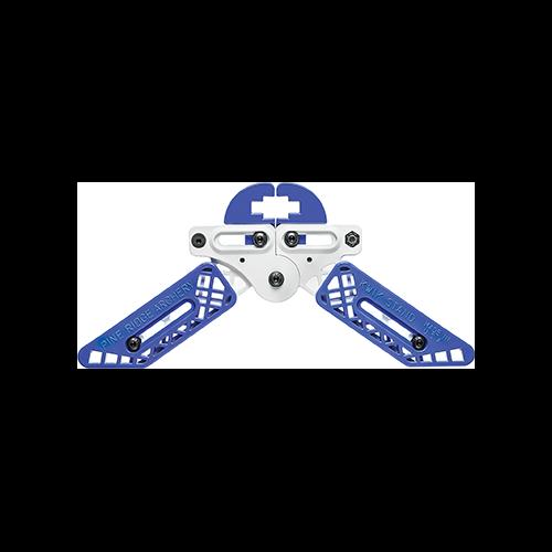 Pine Ridge Kwik Stand Bow Support White/Blue