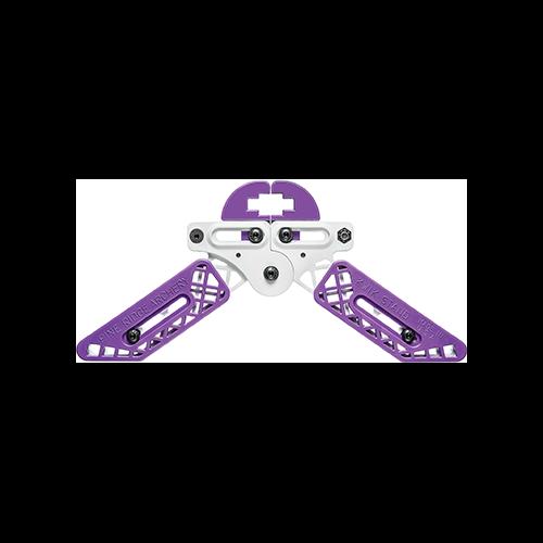 Pine Ridge Kwik Stand Bow Support White/Purple
