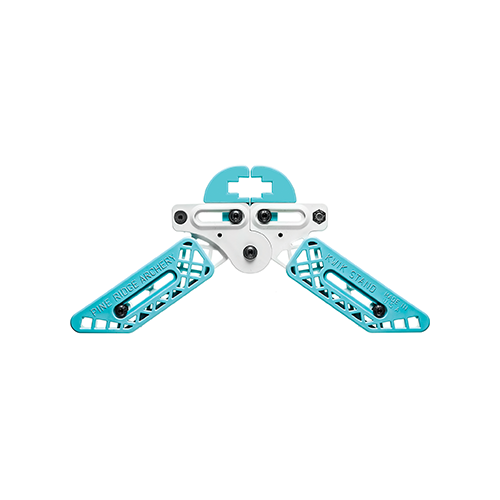 Pine Ridge Kwik Stand Bow Support White/Turquoise