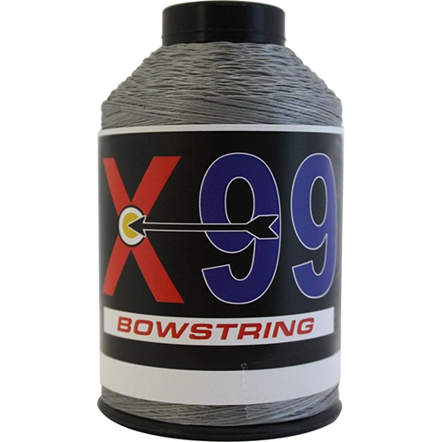 BCY X99 Bowstring Material Silver 1/4 lb.