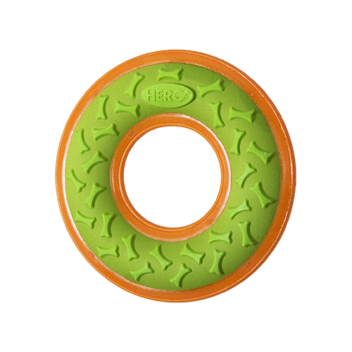 Hero Outer Armor Ring Orange/Lime Large