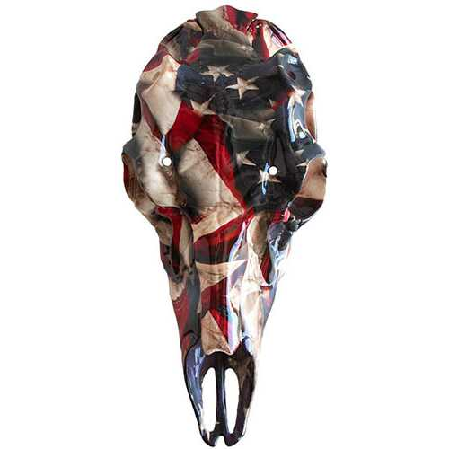 Mountain Mikes Skull Master American Flag