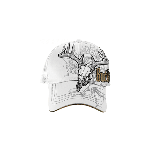 Buckwear Deer Treestand Skull Baseball Cap