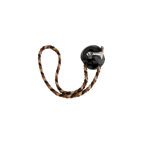 Shrewd Swivel Disconnect W/Integrated Wrist Sling Black