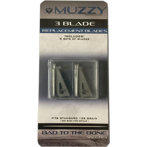 Muzzy Replacement Blade #330 3 Blade 125gr