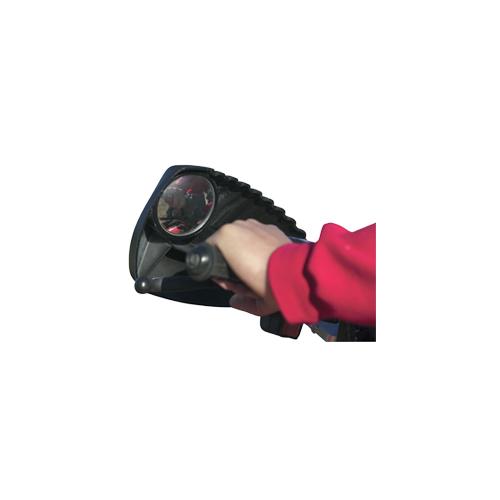 Kolpin Hand Guard w/Mirror Black