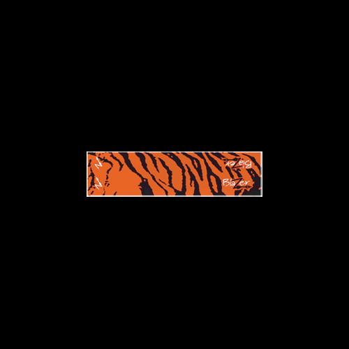 Blazer Carbon Orange Tiger Wrap