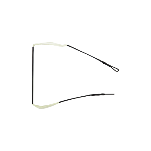 "Dacron Bowstring 12st White 63"""