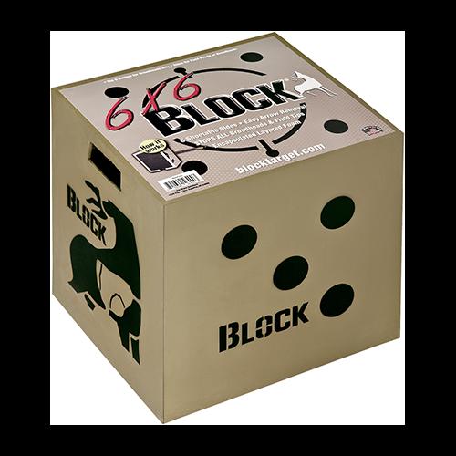 Block 6x6 Target 18x16x18