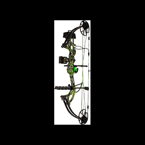 Bear Archery Cruzer G2 RTH Package Moonshine Toxic RH