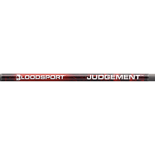 Bloodsport Judgement 350 Raw Shafts w/Nock & Inserts