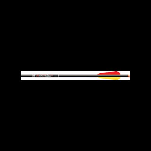 "Bloodline Crossbow Bolts 20"" w/4"" Vanes Orange Flat Nocks"