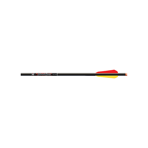 "Bloodline Crossbow Bolts 22"" w/4"" Vanes Orange Flat Nocks"