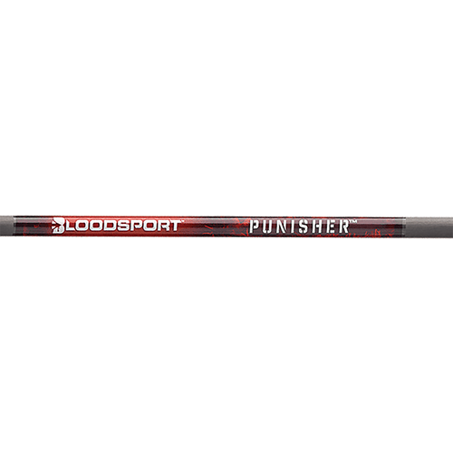 Bloodsport Punisher 300 Raw Shafts w/Nock & Inserts