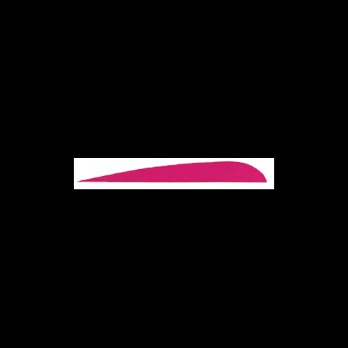 """Trueflight Pink 3"""" RW Feathers"""