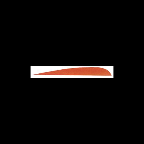 "Trueflight Orange 4"" RW Feather"