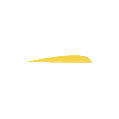 "Trueflight Yellow 5"" LW Feather"
