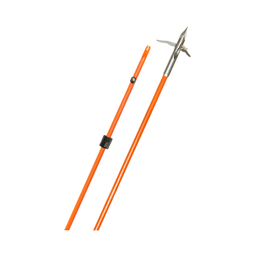 Fin Finder Raider Pro Arrow Orange w/Innerloc 3 Barb Grappl