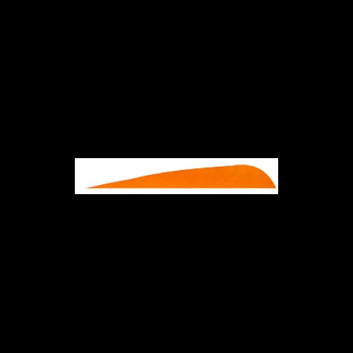 2 1/2 RW Gateway Orange Feathers