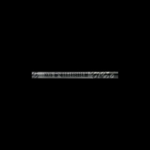 Gamegetter 340 Raw Shafts Nocks Installed/Inserts Loose