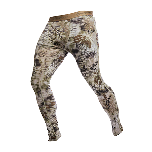 Hoplite II Baselayer Bottom Midweight Highlander Camo Large