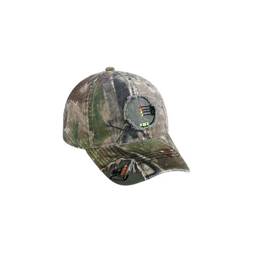 Sight Pin Frayed Realtree Xtra Green Hat
