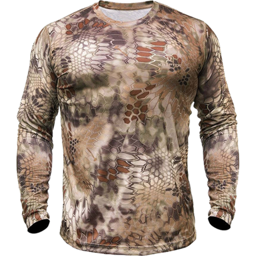 Hyperion Long Sleeve Crew Shirt Highlander Camo XL