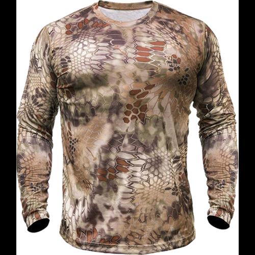 Hyperion Long Sleeve Crew Shirt Highlander Camo 2X