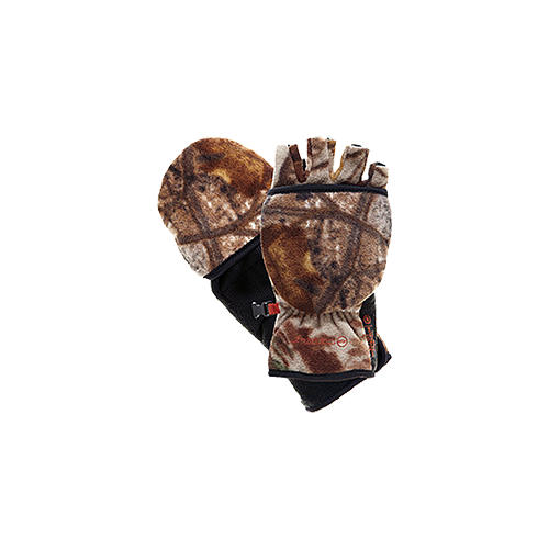 Bowhunter Convertible Glove/ Mitten Realtree Xtra Yth Large