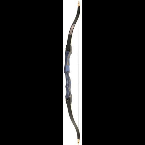 OMP Explorer CE Recurve Bow 54 in. 25 lbs. Blue RH
