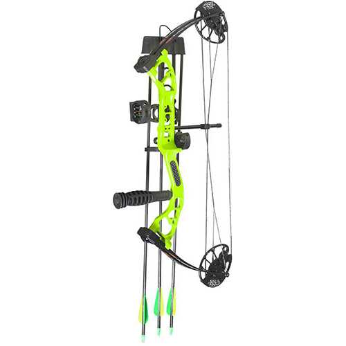 "PSE Mini Burner RTS Package RH 16""-26.5"" 40 lbs Lime Green"
