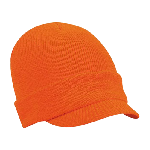 Moderate Weigh Fleece Radar Cap Blaze Orange OSFM