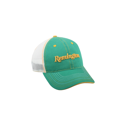 Remington Low Profile Yellow Green Mesh Back Hat