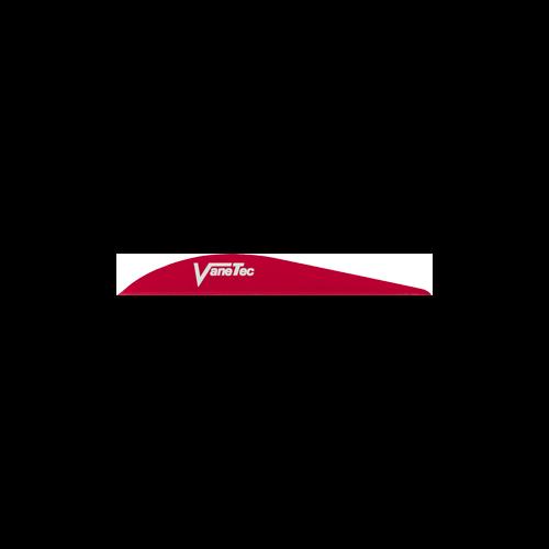 """Super Spine 3"""" Red Vanes"""