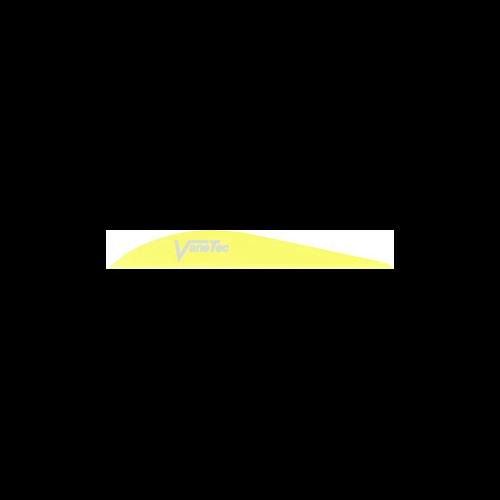 """Super Spine 3"""" Flo Yellow Vanes"""